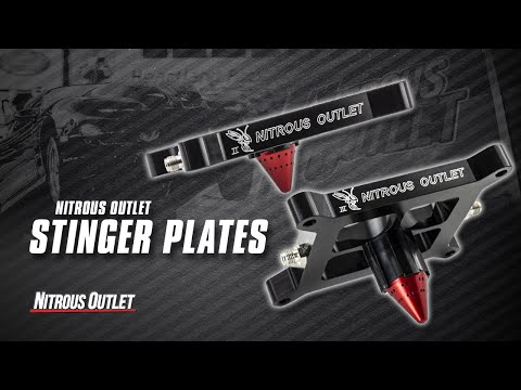 Nitrous Outlet Stinger Plate Systems