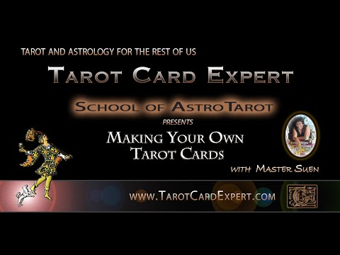 How To Make Your Own Tarot Deck of Cards
