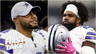 Dak or Zeke: Who should Cowboys give the big payday? | First Take