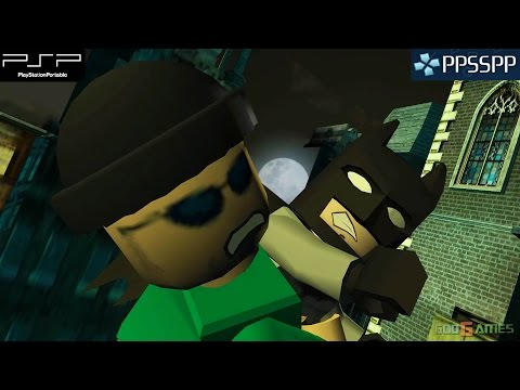 Lego Batman: The Videogame - PSP Gameplay 1080p (PPSSPP)