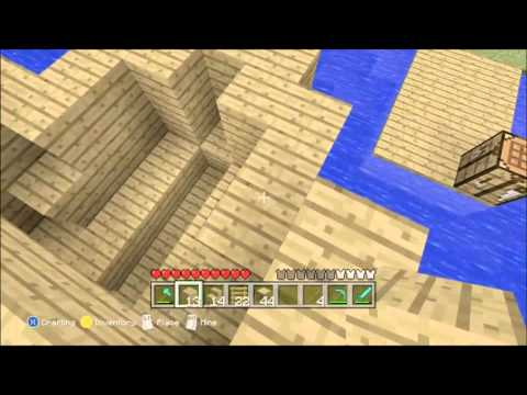 Minecraft Xbox 360 Pirate Ship Timelapse