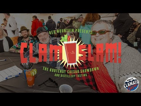 2018 2nd Annual Clam Slam: The Kootenay Ceaser Showdown and Distillery Tasting