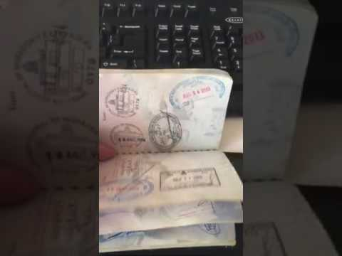 My passport stamps