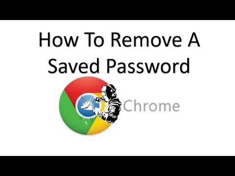 How To Clear A Saved Password From Google Chrome By Welding And Stuff