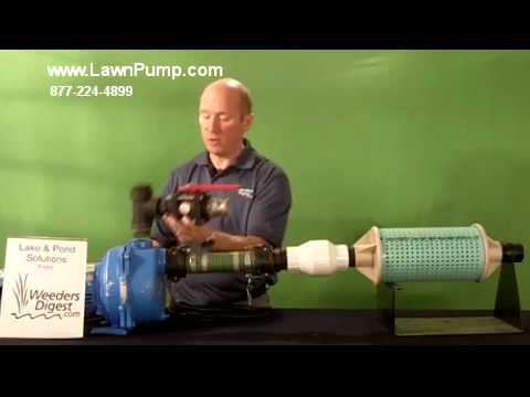Pond Water Pump and Lawn Irrigation System Water Pump