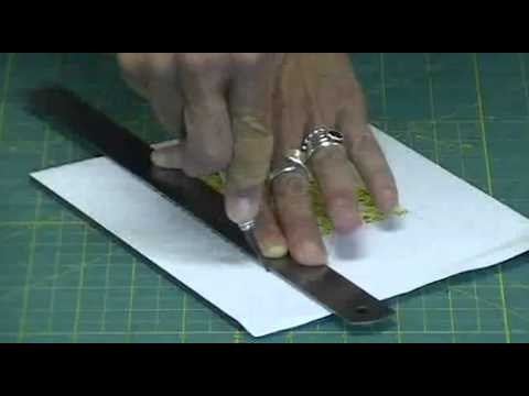 How to cut foam core with an exacto knife.mov