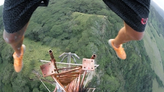 Download CLIMBING HAWAII'S TALLEST TOWER - ADVENTURE OF A LIFETIME [4K] Video