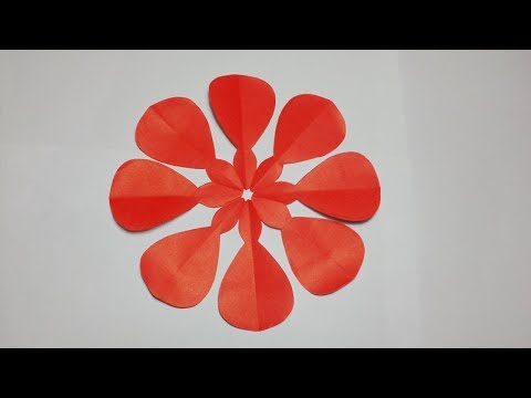 paper cutting Design DIY@How to make simple paper cutting designs?Easy Crafts.