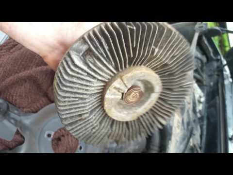 1995 f150 fan clutch overheating issues???