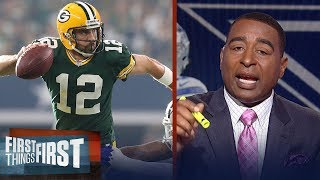 Cris Carter: 'I've never seen anyone throw the football like Aaron Rodgers' | FIRST THINGS FIRST