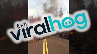 Lava Flowing in Hawaii || ViralHog