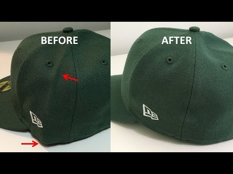 Smoothing the Wrinkles in your Baseball Caps