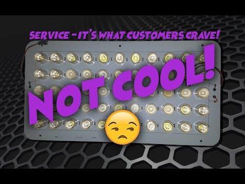SB Reef Lights customer service is weak (lost package)
