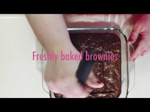 Hunter and Mama Make Brownie Batter Truffles