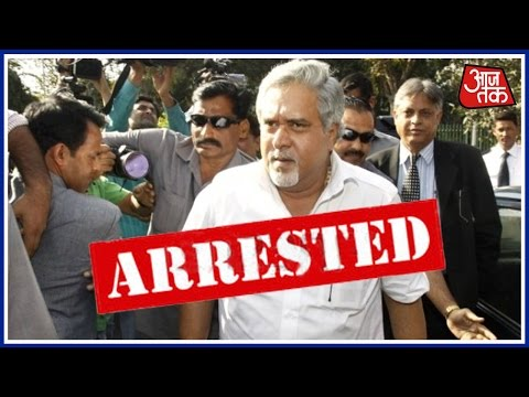 End Of 'Good Times': Vijay Mallya Arrested In London