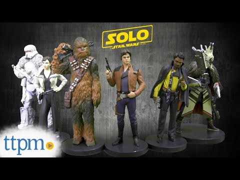 Solo: A Star Wars Story Figurine Set from shopDisney