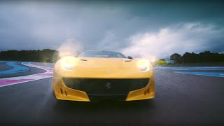 Chris Harris vs Ferrari F12tdf - Top Gear: Series 23 - BBC