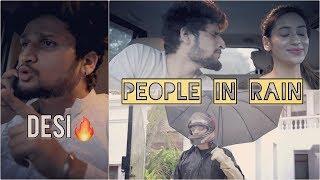 """ PEOPLE IN RAIN ""  | HUNNY SHARMA |"