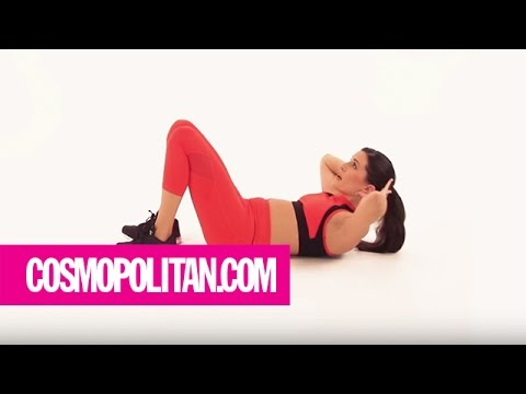 Get A Flat Stomach in 5 Minutes: Week 1 | Cosmopolitan