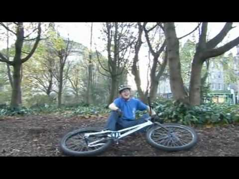 Inspired bicycles: Danny Macaskill, street trials