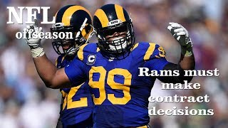 Rams Must Make Free Agency Decisions and Prepare for Draft | Los Angeles Times