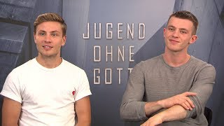 Jugend ohne Gott Interview 1 mit Jannis Niewöhner und Jannik Schümann