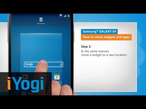Move Widgets and Apps on Samsung® GALAXY S4