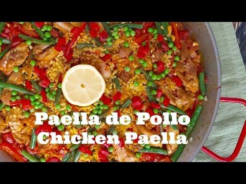 How to make Paella de Pollo (Chicken Paella)