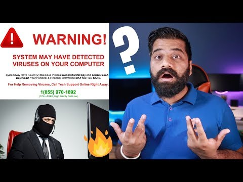 Tech Scams on Internet - How to Avoid? Explained 🔥🔥🔥