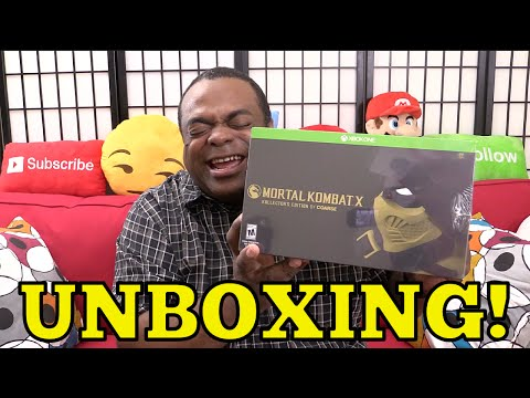 MORTAL KOMBAT X KOLLECTOR'S EDITION Unboxing! [Xbox One]