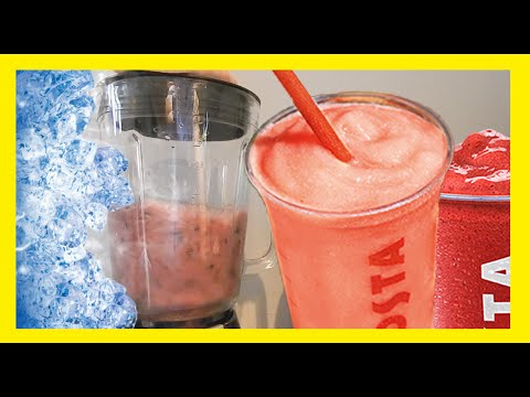 DIY Costa Blackberry & Raspberry Fruit Cooler!