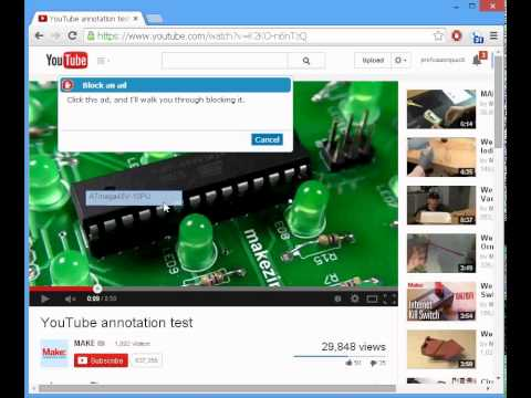 Disable Youtube Annotations Forever