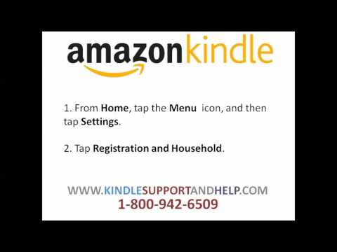 How To Register New Kindle Device | Amazon Kindle Support