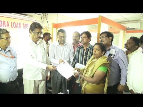 MP K.Haribabu provide mudra loan to fish vendors