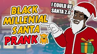 Black Guy Wants to be SANTA (hilarious)