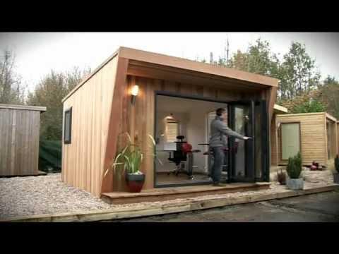 Garden Offices, Garden Rooms and Garden Studios by Green Retreats