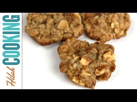 How to Make Apple Oatmeal Cookies | Hilah Cooking