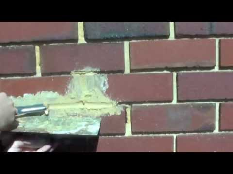 How to Repair Damaged Mortar Joints in Brick Wall