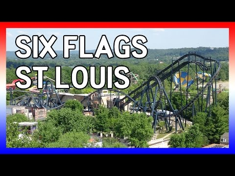 Six Flags St Louis 4k Usa 2016 Day 7