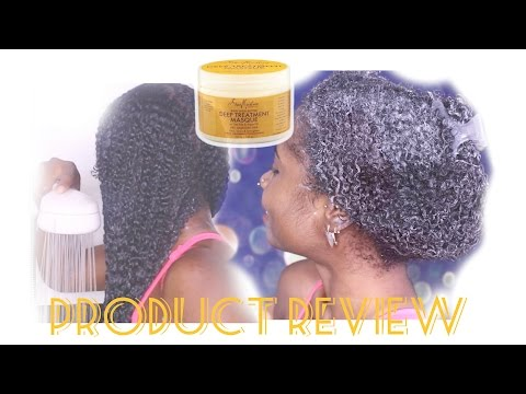 REVIEW: RAW SHEA BUTTER DEEP TREATMENT MASQUE -SHEA MOISTURE