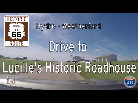 Historic Route 66 - Hydro - Weatherford - Oklahoma | Drive America's Highways 🚙