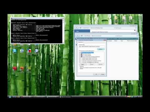 How to Get a Static IP address in windows vista