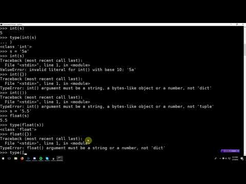Learning Python 004: Type Constructors (Casting) and Booleans