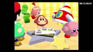 Kirby 64: The Crystal Shards - 100% speedrun - 1:08:34
