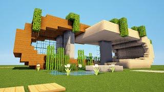 Minecraft hd maison moderne n 1 1 2 music jinni - Comment creer une belle maison dans minecraft ...