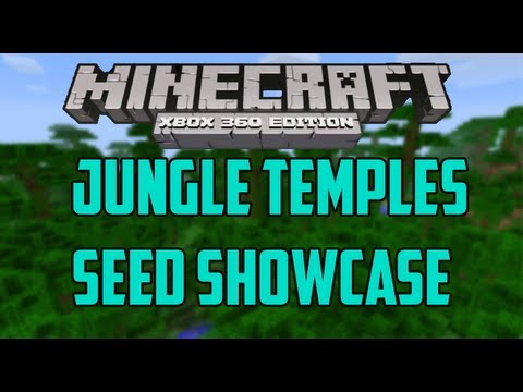 Jungle Temples - Minecraft (Xbox 360) TU12 Seed Showcase #8