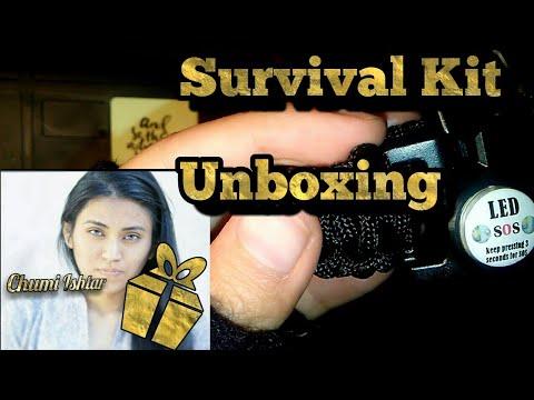 Unboxing Survival Gear
