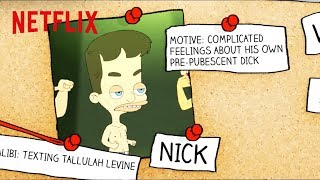 Big Mouth and American Vandal   Who Drew The Dicks?   Netflix