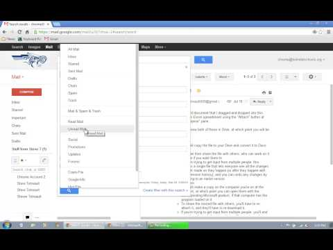 Gmail - Delete, filter and label, archive and search