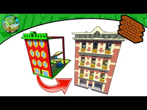 Minecraft: How to Plan and Build a Townhouse